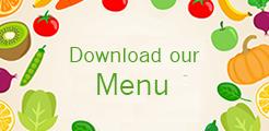 Download our Menu